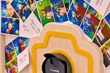 Фотобудка с возможностью смены фона и неограниченной печатью фотографий