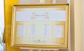 Золотой план рассадки гостей на свадьбе