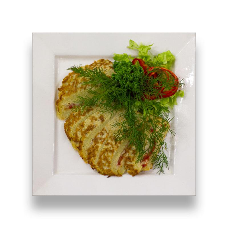 Моцарелла запеченная в картофеле