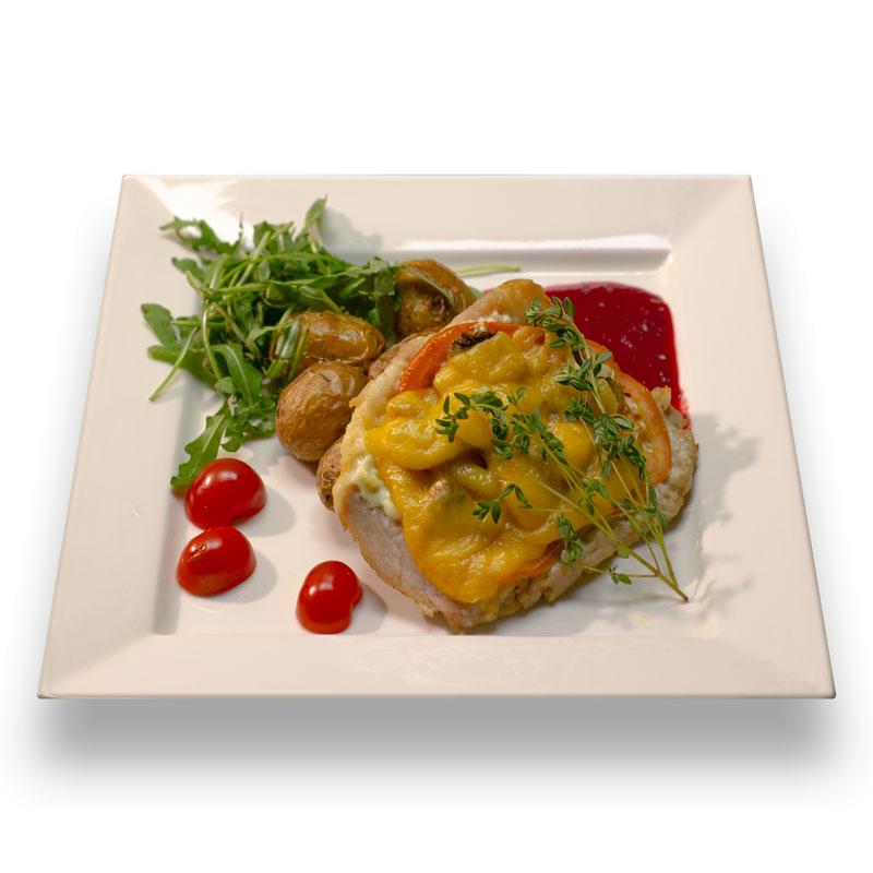 Мясо по-французски с картофелем шато
