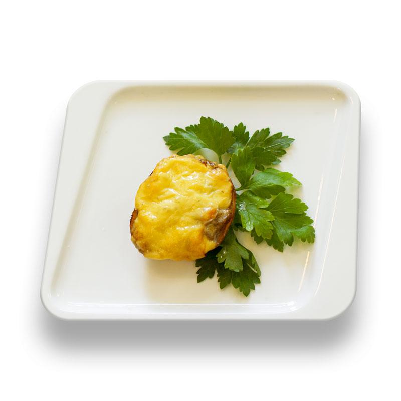 Жюльен грибной в картофеле
