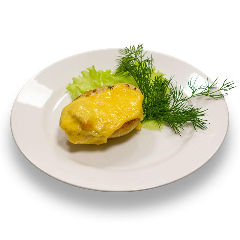 Жюльен куриный в картофеле